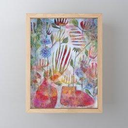 Florista Framed Mini Art Print