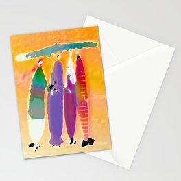 under one umbrella Stationery Cards