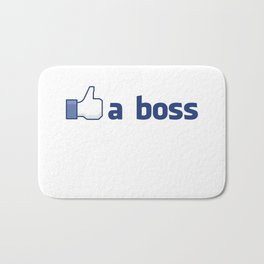 Like A Boss Bath Mat