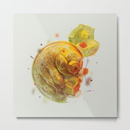 Tardigrade Party Metal Print