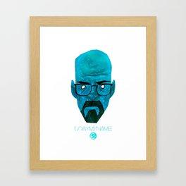 Blue Persuasion  Framed Art Print