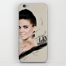 Lana Parrilla iPhone Skin