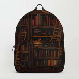 Night library Backpack