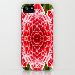 FloralBisection iPhone Case