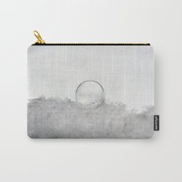 Crystal Snow Bubble Carry-All Pouch