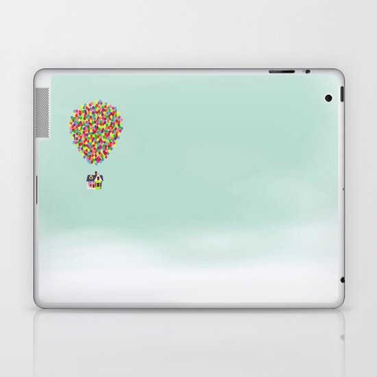 Up Laptop & iPad Skin