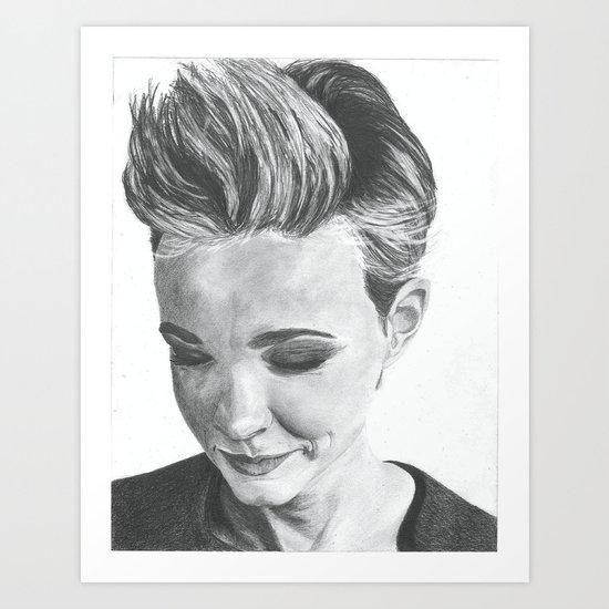 Carey Mulligan Art Print