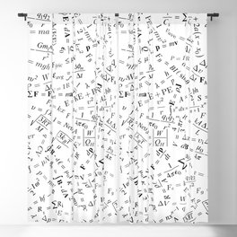 Equation Overload II Blackout Curtain