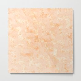 Botanic orange Metal Print