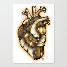 Robot Heart - Sunshine Canvas Print