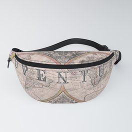 Adventure Map of the World Fanny Pack