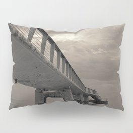 Cloudy Sea Pier Pillow Sham