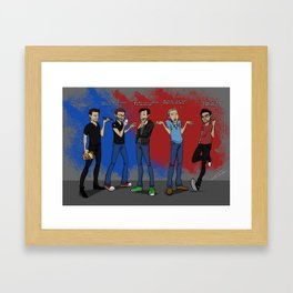 Rooster Teeth Founding Fathers Framed Art Print
