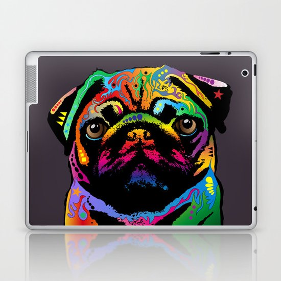 Pug Dog Laptop & iPad Skin