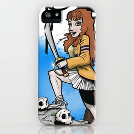80s Pinup iPhone Case