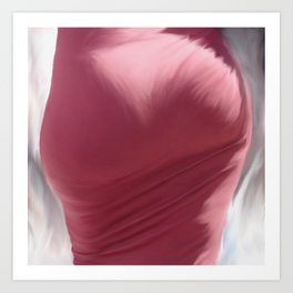 Rear View - Painting Art Print