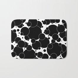 Black And White Pop 1 Bath Mat