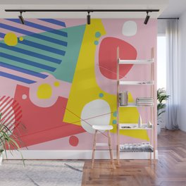 Abstract Pop I Wall Mural
