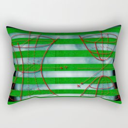 Figure 57 (Diagram Series) Rectangular Pillow