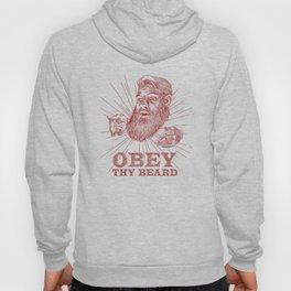Obey Thy Beard Hoody