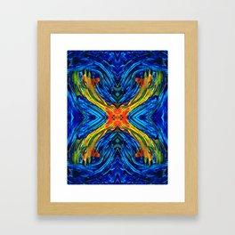 Modern Art - Xuberant - By Sharon Cummings Framed Art Print