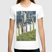 central park T-shirts featuring New York Central Park  by Premium