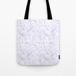 Mermaid Toile - Lavender Tote Bag