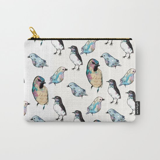 Vintage Version.  Carry-All Pouch