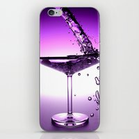 martini iPhone & iPod Skins featuring Martini by Littlebell