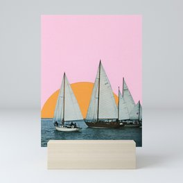 Into the Sunset Mini Art Print