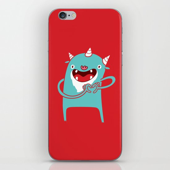 Monster Hearts You! iPhone & iPod Skin