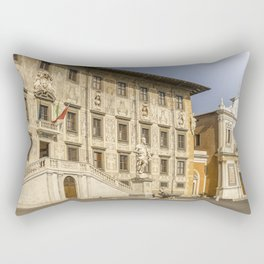 Piazza dei Cavalieri knights square Pisa Tuscany Italy Rectangular Pillow