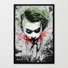 Joker - Heath Ledger Canvas Print