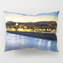 Starry Night over the Riviera Pillow Sham