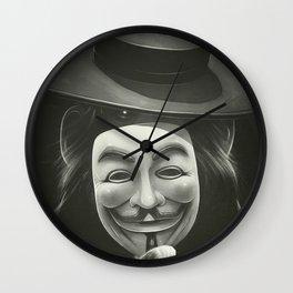Anonymous II Wall Clock