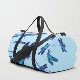 BLUE DRAGONFLY SEASON ART DESIGN  ART Duffle Bag
