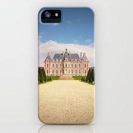 Chateau de Sceaux iPhone Case