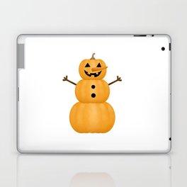 Pumpkin Snowman Laptop & iPad Skin
