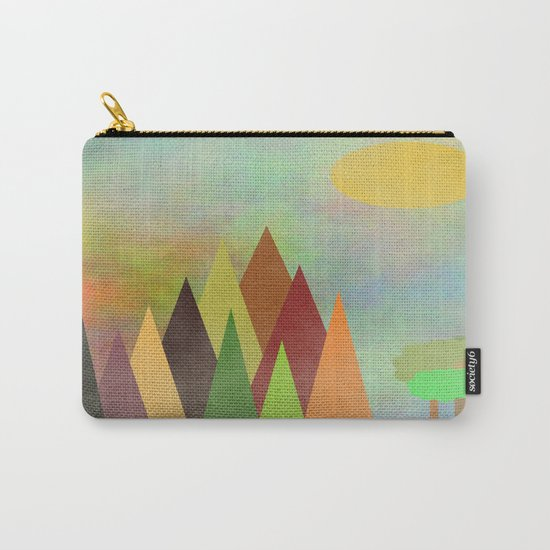 Whimsical Landscape Carry-All Pouch