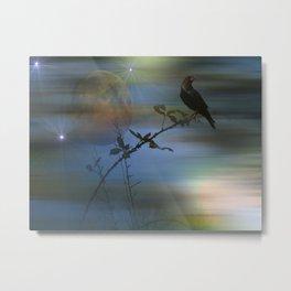 Raven's Dawn. Metal Print