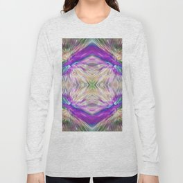 213 - Abstract diamond design Long Sleeve T-shirt