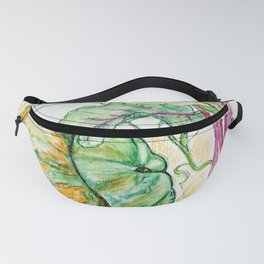 Red Beets and Squash Fanny Pack
