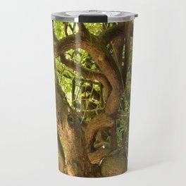 Trangle tree Travel Mug