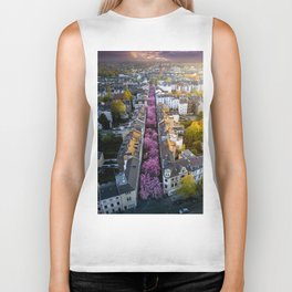 Colorful Street Biker Tank