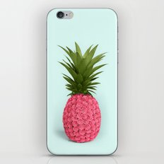 PINEAPPLE ROSES iPhone Skin