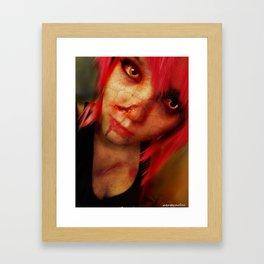 Zombie Ana Framed Art Print