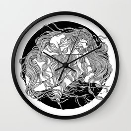 SAFE PLACE Wall Clock