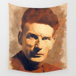 Samuel Beckett, Literary Legend Wall Tapestry