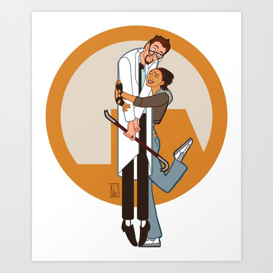 Lambda is for Love Art Print