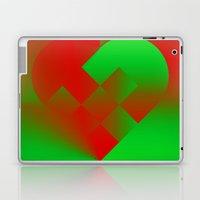 Danish Heart Holidays #61 Laptop & iPad Skin